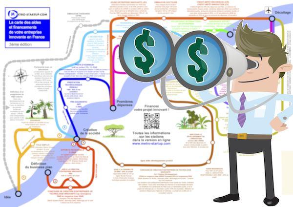 Carte des financements